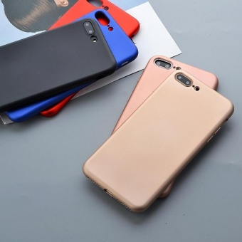 Soft TPU Protector Case For Apple iPhone 5 / 5s (Rose Gold) - 2