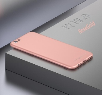 Soft TPU Protector Case For Apple iPhone 5 / 5s (Rose Gold)