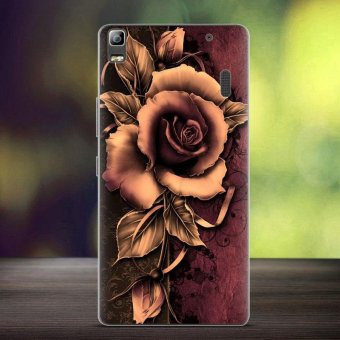 Softlyfit Embossed TPU Case for Lenovo A7000/A7000 Plus/K3 Note - Gothic Rose - intl