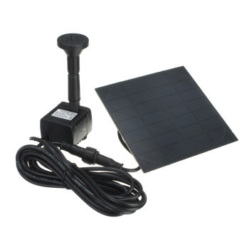 Solar Power Fountain Pool Water Panel Pump Garden