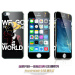 Songling iphone5 cartoon Apple front and back glass tempered Film