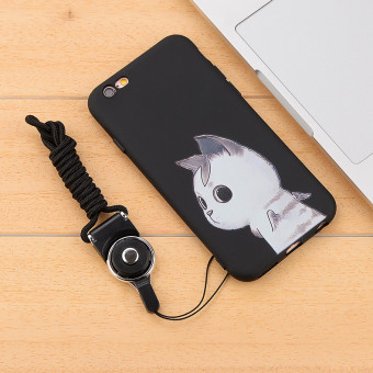 Songling iphone6sp/6plus silicone drop-resistant soft protective case phone case
