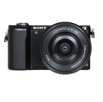 Sony Alpha ILCE5000L Body 16-50mm Kit (Black)