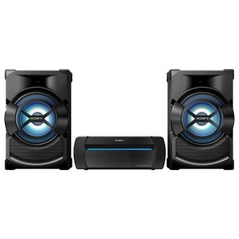 Sony Shake-X1D Mini HI-FI System, High Power Home Audio System with Bluetooth and DVD Player