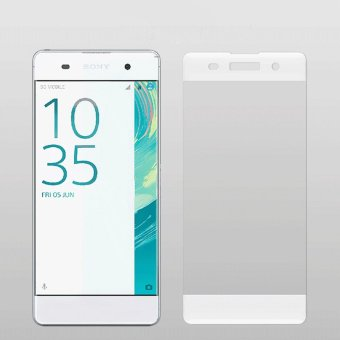 Sony XA 3D Full Coverage Tempered Glass Screen Protector (White) Price Philippines