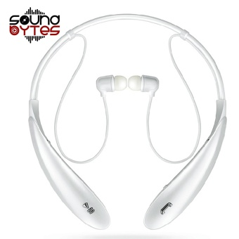 Sound Bytes HBS-800 Bluetooth V4.0 Sports Neckband Headset (White) Price Philippines
