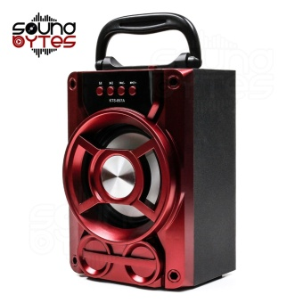 Sound Bytes KTS-857A GearWorks Bluetooth Speaker (Red)