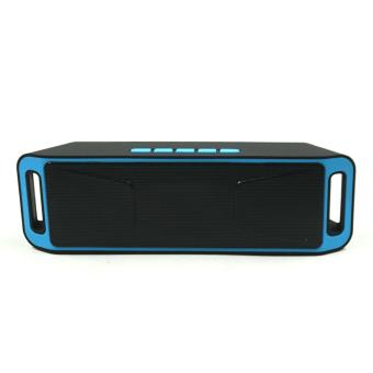 Sound Bytes Megabass SC208 A2DP Bluetooth Wireless Stereo Speaker(Blue)