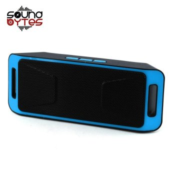 Sound Bytes Megabass SC308 A2DP Bluetooth Wireless Stereo Speaker(Blue)