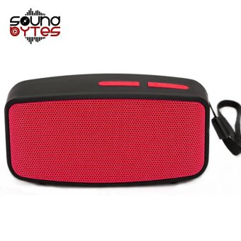 Sound Bytes N10 Extreme Bluetooth Speaker (Red)