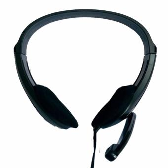 Speed Headset Model CF-D1MV Hi Fi Headphone with Microphone (Black) Price Philippines