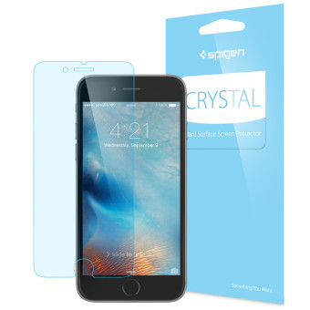 SPIGEN Crystal Hard Surface Screen Protector for Apple iPhone 6SPlus/6 Plus (Clear)