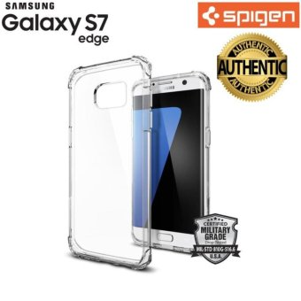 Spigen Crystal Shell TPU Case for Galaxy S7 Edge (Clear) - intl