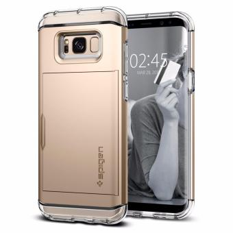 SPIGEN Crystal Wallet Case for Samsung Galaxy S8 (Gold Maple)