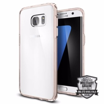 Spigen Galaxy S7 Edge Case Ultra Hybrid Rose Crystal