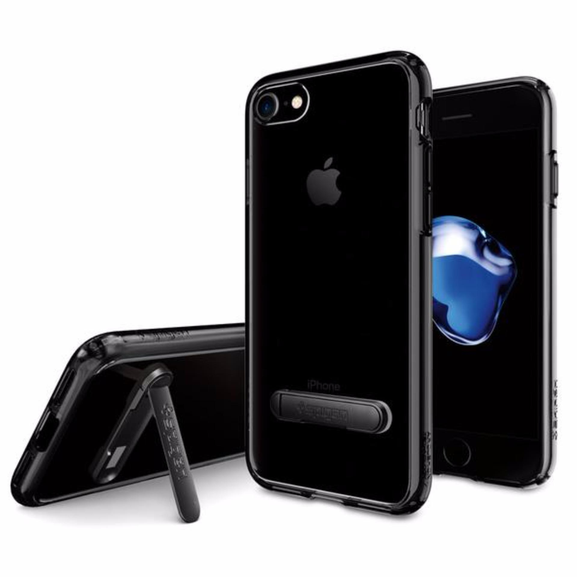 ... Spigen iPhone 7 Plus Case Ultra Hybrid S Jet Black ...