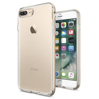 Spigen Neo Hybrid Crystal Case for iPhone 7 Plus (Champagne Gold) - 2