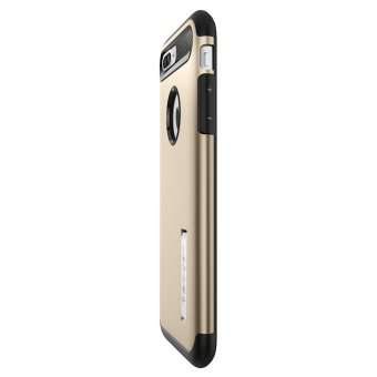 Spigen Slim Armor Case for iPhone 7 Plus (Champagne Gold) - 5