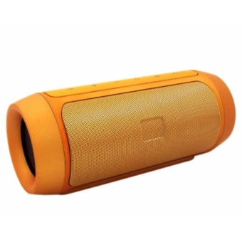 Splashproof Portable Wireless Bluetooth Speaker and Power Bank (Gold)