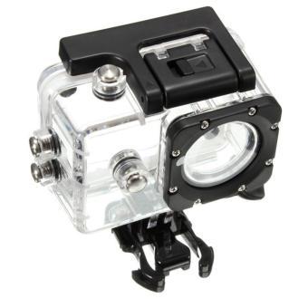 Sport Action Camera Box Case Waterproof Case For 4k SJCAM SJ4000SJ4000+ SJ7000 (Transparent) - 2