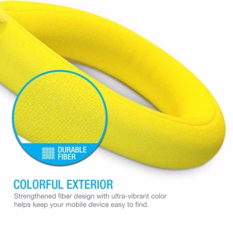Sport Camera Floating Wrist Strap Foam for Underwater GoPro,Panasonic Lumix, Nikon COOLPIX S33 and Other Cameras(Bright Yellow)- intl - 5