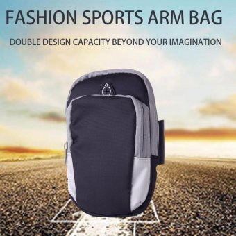 Sports Armband Phone Bag Case Fitness Jogging Running Arm Band Bag Pouch - intl