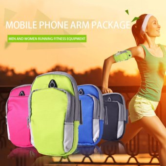Sports Armband Phone Bag Case Fitness Jogging Running Arm Band BagPouch - intl