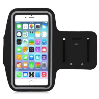 Sports Gym Armband Arm Band Cover for Samsung Galaxy S7 (Black)