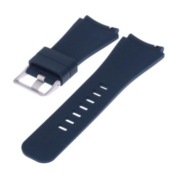 Sports Silicone Bracelet Strap Band For Samsung Gear S3 Watch(Blue) - intl - 2