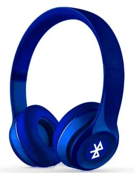 Sports ST-415 Stereo Wireless Bluetooth Headset with FM And Micro SD Slot (Blue)
