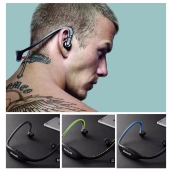 Sports Stereo Wireless Bluetooth 3.0 Headset (Green)
