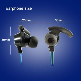 Sports Wireless Bluetooth Earphone Anti-sweat design HeadsetEarbuds Earphones with Mic In-Ear for iPhone SmartPhones - 4
