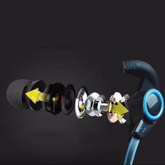 Sports Wireless Bluetooth Earphone Anti-sweat design HeadsetEarbuds Earphones with Mic In-Ear for iPhone SmartPhones - 2