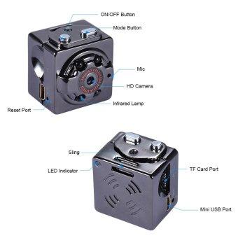 SQ8 HD 1080P 720P Sport Mini DV Camera Sepia Voice Video RecorderInfrared Digital Small Camera Outdoorfree - intl - 2