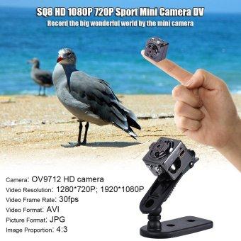 SQ8 HD 1080P 720P Sport Mini DV Camera Sepia Voice Video RecorderInfrared Digital Small Camera Outdoorfree - intl - 4