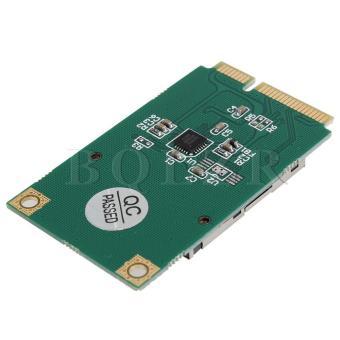 SSD to Mini PCI-e Memory Card Adapter (Blue)