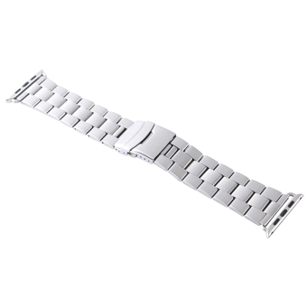 Stainless Steel Buckle Watchband Replacement for Apple Watch 42mm
