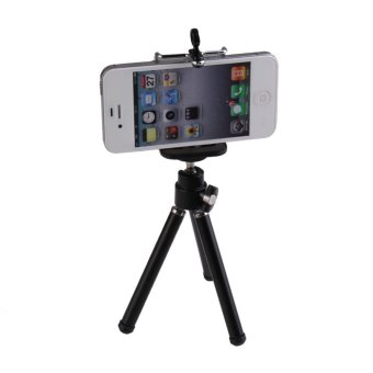 Stand Flexible Tripod for Smartphone Camera Video (Black) Price in Philippines