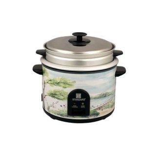 Standard SSC-10K 1.8 L Rice Cooker (Silver/White)