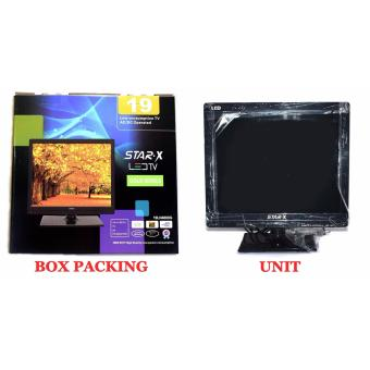 STAR-X 19-Inch LED TV energy saving AC/DC Operated with Full HD1080p - 5