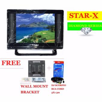 STAR-X 21-Inch LED TV DIAMOND SERIES energy saving AC/DC Operatedwith Full HD 1080p Price Philippines