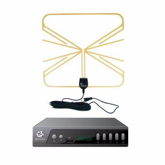 Starcube Digital TV Box with Home Antenna for DTV