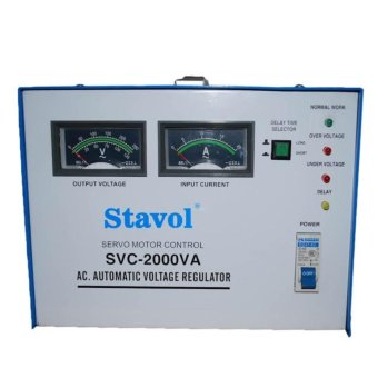 Stavol SVC-2000VA Automatic Voltage Regulator (AVR)