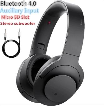 Stereo Subwoofer Wireless Bluetooth Headset (Black)