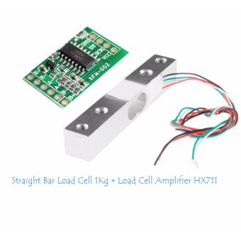 Straight Bar Load Cell 1Kg & Load Cell Amplifier HX711