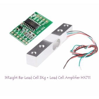 Straight Bar Load cell 3Kg & Load Cell Amplifier HX711