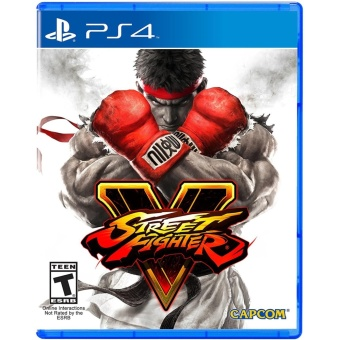 STREET FIGHTER V PS4 GAME R3,R1 MINT CONDITION