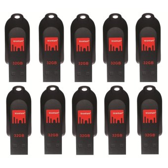 Strontium Pollex Series 32GB Flash Drive Set of 10 (Black) Price Philippines