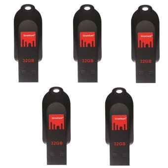 Strontium Pollex Series 32GB Flash Drive Set of 5 (Black) Price Philippines