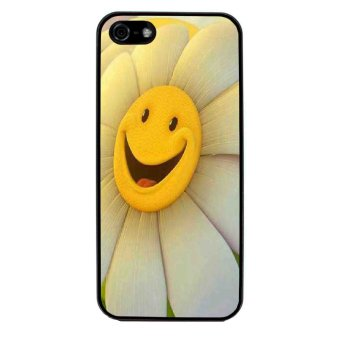 Sun Flower Phone Case for iPhone 5C (Black)